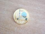 BREFC5 - EFIGIE MILITARA - POLICROMA - COALITIA DIN AFGANISTAN
