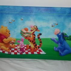 Tablou panza canvas Winnie the pooh la cina