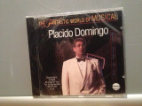 PLACIDO DOMINGO - THE BROADWAY...(1988/WARNER/GERMANY) - CD ORIGINAL/Sigilat/Nou