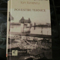 Povestiri tehnice - Ion Ionescu