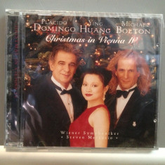 DOMINGO & MICHAEL BOLTON -CHRISTMAS IN (1997/SONY/UK) - CD ORIGINAL/Sigilat/Nou - Muzica Pop sony music
