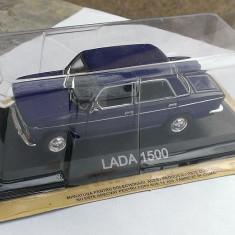 Macheta metal DeAgostini - Lada 1500 - NOUA+revista Masini de Legenda nr.7 - Macheta auto, 1:43