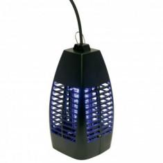 Capcana electrica pentru insecte, Home IK 230, putere 4 W, raza de actiune 20 mp, lumina UV