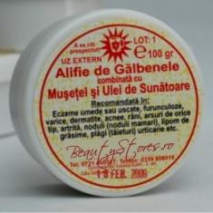 Alifie de Galbenele, Musetel şi Ulei de Sunatoare