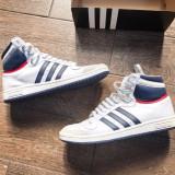 Adidas Originals Piele - Adidasi barbati, Marime: 44.5, Culoare: Alb