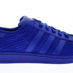 Adidasi Adidas Superstar Mesh marimea 41 1/3, 42 si 42 2/3 - Adidasi barbati, Culoare: Albastru, Textil