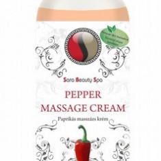 Crema de masaj cu ardei 250 ml SARA BEAUTY SPA - Crema Anticelulitica