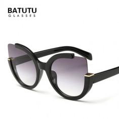 Ochelari SOare Dama - Noi , Retro Style , UV400 - Negri