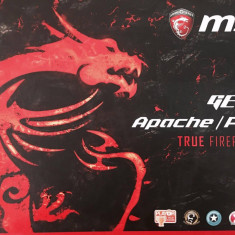 Laptop Gaming MSI GE62 2QF Apache PRo - Laptop MSI, Intel Core i7, 1 TB, Diagonala ecran: 20