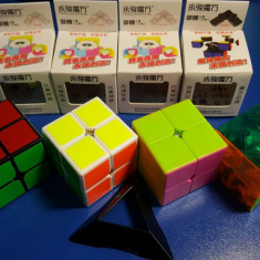 Cub Rubik 2x2x2 YJ YuPo Profesional 50mm - Jocuri Logica si inteligenta