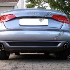 Difuzor bara spate Audi A5 Sportback 2009-2012 Sline ver1 - Difuzor bara spate auto