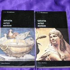 Istoria artei antice vol 1-2 - J J Winckelmann (f0367 - Carte Istoria artei