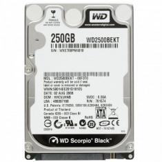 Hard disk laptop WD Scorpio Black 250gb, 7200rpm, 16MB, factura+garantie! - HDD laptop Western Digital, 200-299 GB, SATA2