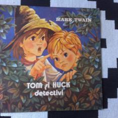 TOM SI HUCK DETECTIVI MARK TWAIN DISC VINYL LP povesti pentru copii exe 20987 - Muzica pentru copii electrecord, VINIL