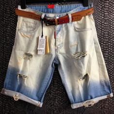 Bermude/pantaloni scurti/blugi 3 sferturi Dsquared D2 Made in Italy vara 2017!!! - Bermude barbati Dsquared2, Marime: 34, Culoare: Din imagine, Bumbac