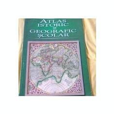 Atlas istoric si geografic scolar