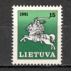 Lituania.1991 Calaretul lituanian KX.240 - Timbre straine, Nestampilat