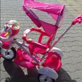 Tricicleta copii cu 2 cosuri