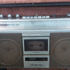 RADIOCASETOFON SIEMENS CLUB 743 STEREO