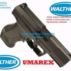 Pistol Airsoft Walther P99 Co2---- 4 JOULI --ORIGINAL--4j ----BONUS BILE - Arma Airsoft