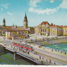 Bnk cp Oradea - Centrul orasului - necirculata - Kruger 1488/3 - Carte Postala Crisana dupa 1918, Printata