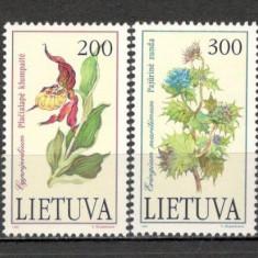 Lituania.1992 Flori KX.247 - Timbre straine, Nestampilat