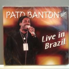 PATO BANTON - LIVE IN BRAZIL(2003/ZYX REC/GERMANY) - CD ORIGINAL/Sigilat/Nou - Muzica Reggae