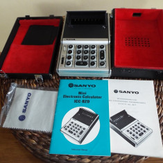 Calculator vintage SANYO ICC 82 D