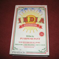 Carte de bucate - INDIA - Cookbook - Pushpesh Pant (1000 de retete) - Carte Retete culinare internationale