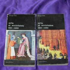 Arta si societatea 980-1240 - vol 1-2 - Georges Duby (f0371 - Carte Istoria artei