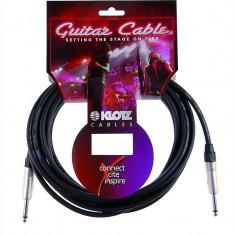 KLOTZ PRIME STANDARD IKN06PPSW INSTRUMENT cablu straight 6M NEGRU