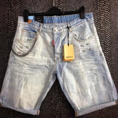 Bermude/pantaloni scurti/blugi 3 sferturi Dsquared D2 Made in Italy vara 2017!!! - Bermude barbati Dsquared2, Marime: 33, 34, Culoare: Din imagine, Bumbac