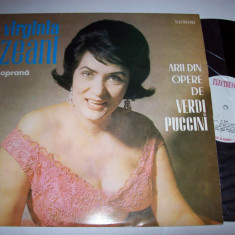 Disc vinil VIRGINIA ZEANI - Arii din opere de Verdi si Puccini (ECE 0466) - Muzica Opera electrecord