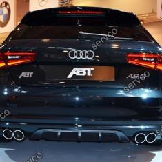 Difuzor spoiler bara spate Audi A3 8V S3 Rs3 Sline S line Sportback Coupe 2012- - Difuzor bara spate auto