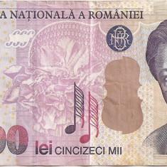 ROMANIA 50000 LEI 2000 VF - Bancnota romaneasca