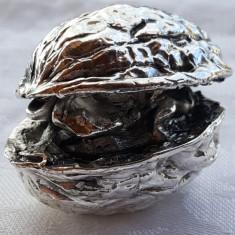 Nuca argint MASIVA piesa ornamentala SPLENDIDA de colectie Superba IMPECABILA, Ornamentale