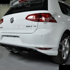 Difuzor spoiler prelungire bara spate VW Golf 7 GTI R ver2, Volkswagen, GOLF VII (5G1) - [2012 - ]