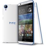 Smartphone HTC Desire 820s dualsim 16gb lte 4g alb albastru - Telefon HTC