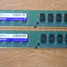Kit Memorie Ram Adata 4 GB (2X2) DDR2 800Mhz Desktop., Dual channel