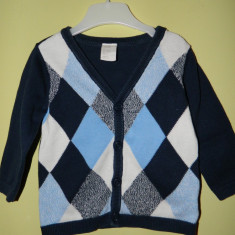 Cardigan/Pulover H&M marimea 74, One size, Bleumarin