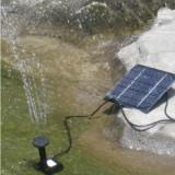 Fântână arteziană solară - fotovoltaica (exterior - iaz, grădină)
