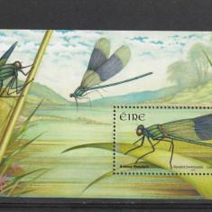 Fauna libelule Irlanda. - Timbre straine, Nestampilat