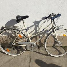 25 bicicleta hercules second-hand, germania r28 - Bicicleta Dama, 24 inch, Numar viteze: 6