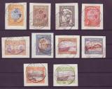 1913 - SILISTRA - SERIE STAMPILATA