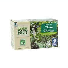 Ceai Bio din Plante Cimbru Menta Jardin Bio 20pl Cod: 11238j