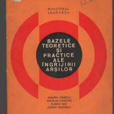 (C7372) BAZELE TEORETICE SI PRACTICE ALE INGRIJIRII ARSILOR DE AGRIPPA IONESCU