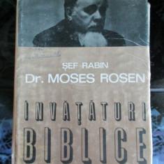 Moses Rosen - Invataturi biblice - Carti Iudaism
