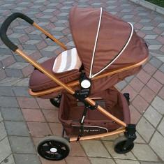 Carucior Baby Care - Carucior copii Sport Baby Care, Maro