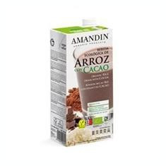 Bautura Vegetala Bio de Orez cu Cacao Amandin 1L Cod: 400073