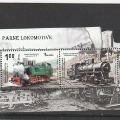 Transporturi locomotive Bosnia Hertegovina. - Timbre straine, Nestampilat